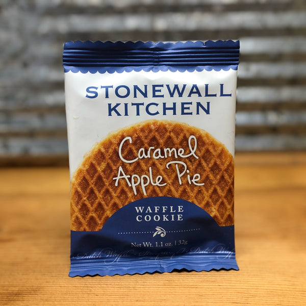 Stonewall Kitchen Caramel Apple Pie Waffle Cookie