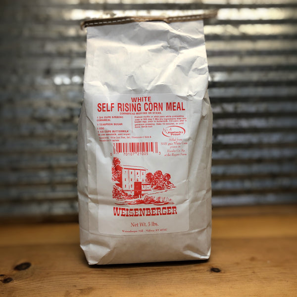 Weisenberger Mills White Self Rising Cornmeal Mix 5 lbs