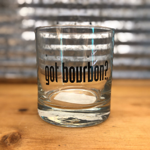 Got Bourbon Rocks Glass