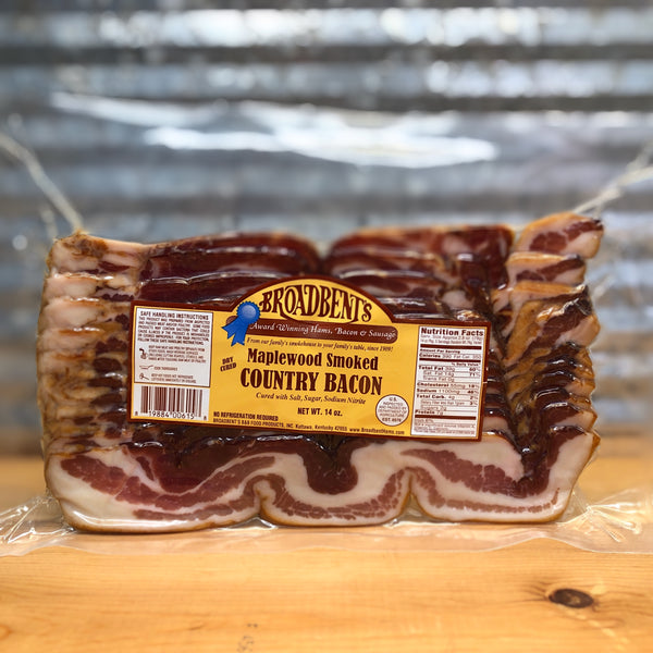 Broadbent's Maplewood Smoked Country Bacon