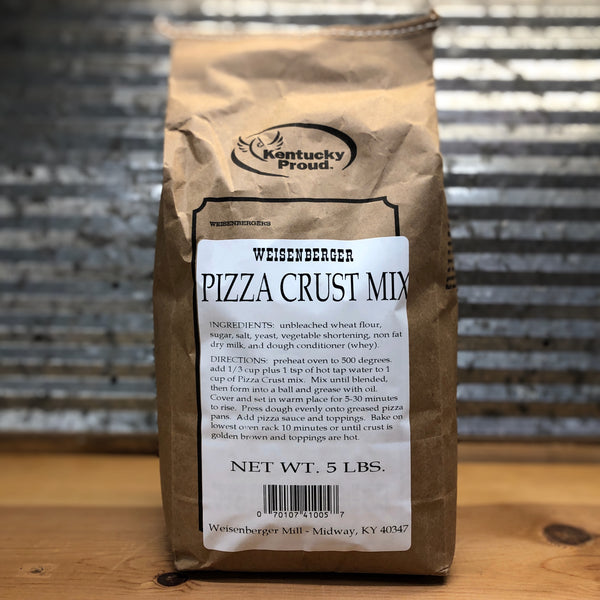 Weisenberger Mills Pizza Crust Mix 5lb