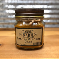 Candle Barn Graham Cracker Cake Candle 7oz