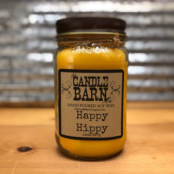 Candle Barn Happy Hippy Candle 14oz