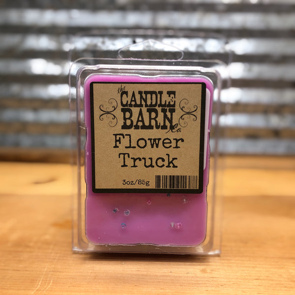 Candle Barn Flower Truck Wax Melt