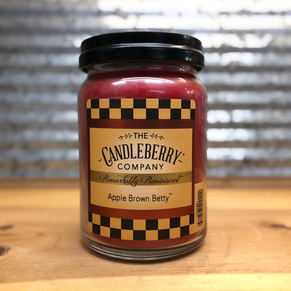 Candleberry Apple Brown Betty Candle 26oz