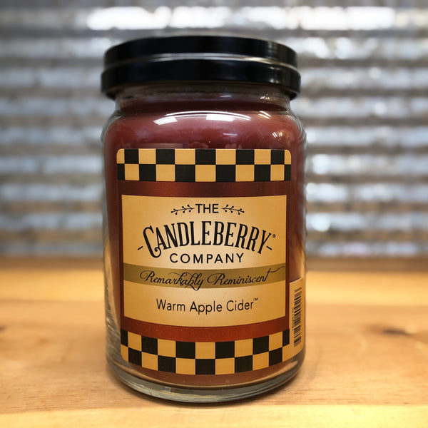 Candleberry Warm Apple Cider Candle 26oz