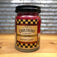 Candleberry Red Velvet Cupcake Candle 26oz