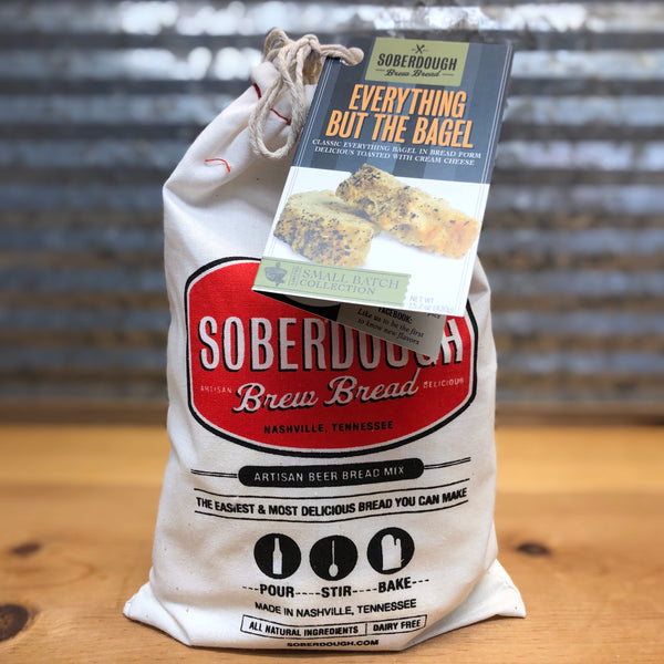 Soberdough Everything But The Bagel Beer Bread Mix