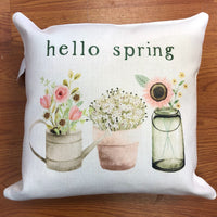Pillow - Hello Spring