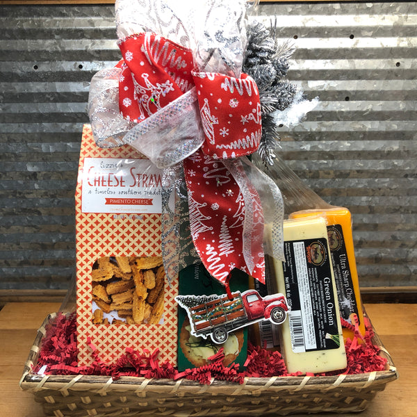 Cheese & Crackers Gift Basket