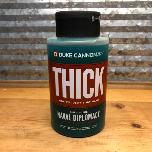 Duke Cannon Naval Diplomacy Thick Body Wash