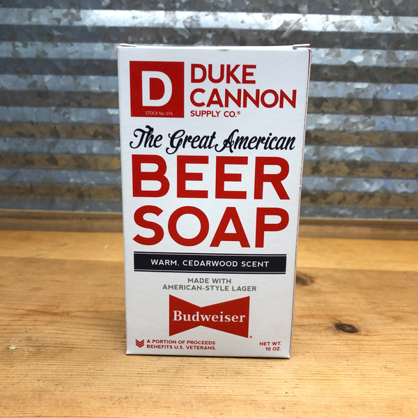 Duke Cannon Great American Beer Bar Soap