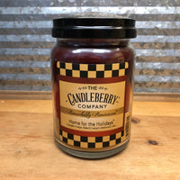 Candleberry Home for the Holidays Candle 26oz