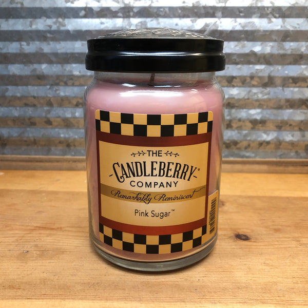 Candleberry Pink Sugar Candle 26oz