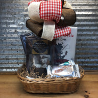 Candies and Books Gift Basket