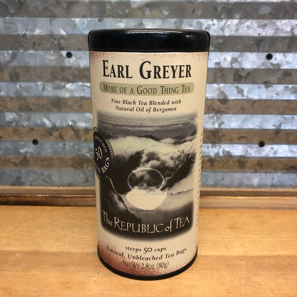 The Republic of Tea Earl Greyer Tea - Black