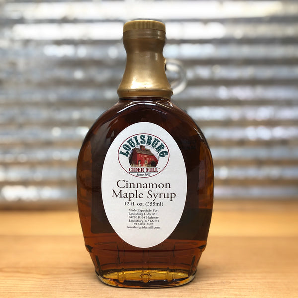 Louisburg Cider Mill Cinnamon Maple Syrup
