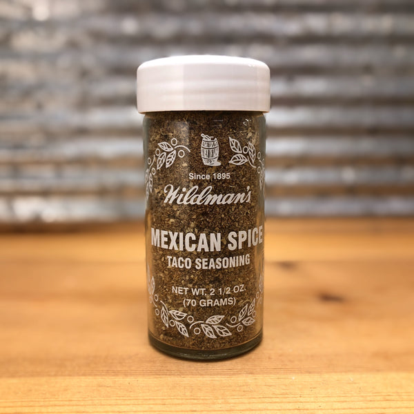 Wildman's Mexican Spice Taco Seasoning