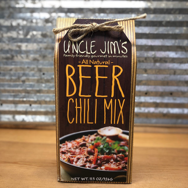 Uncle Jim's All Natural Beer Chili Mix