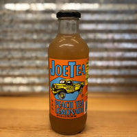 Joe's Half Peach Tea Half Lemonade Glass Bottle