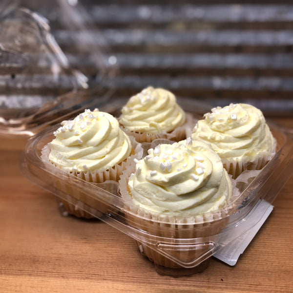 Gourmet Lemon Ice Cupcakes