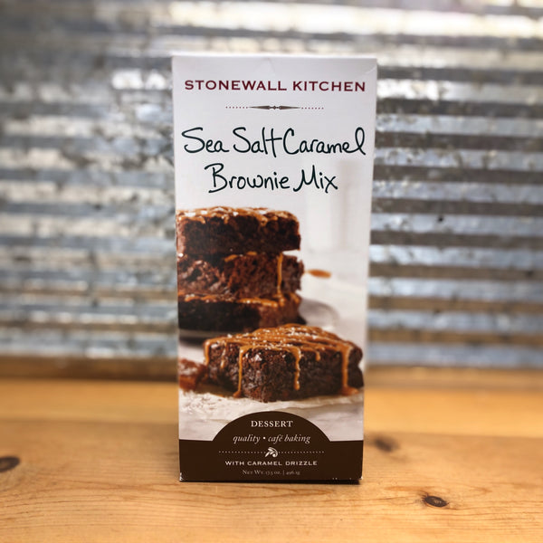 Stonewall Kitchen Sea Salt Caramel Brownie Mix