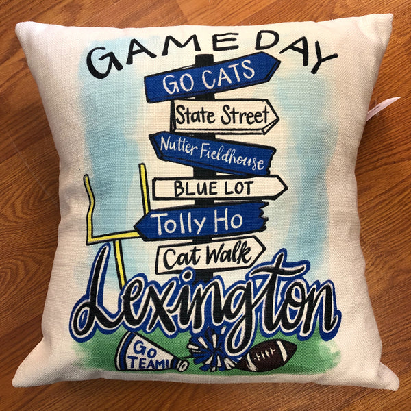 Pillow - Game Day Lexington