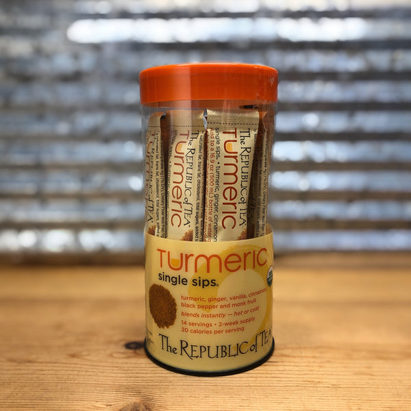 The Republic of Tea Turmeric Single Sips