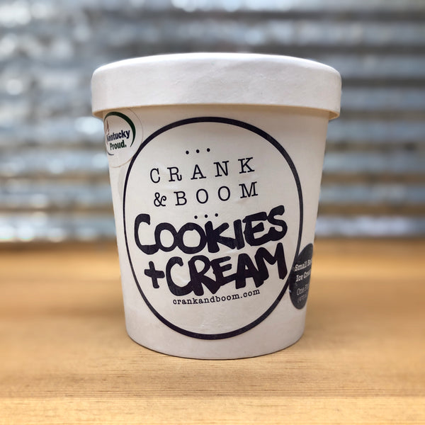 Crank & Boom Cookies and Cream Ice Cream