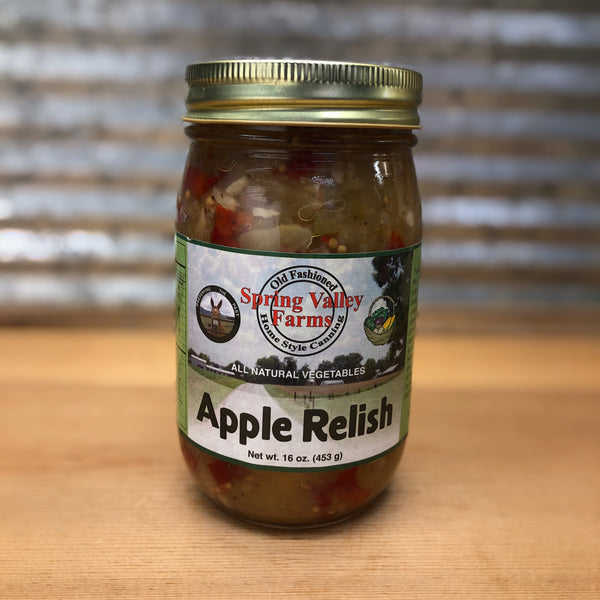 Spring Valley Farms Apple Relish