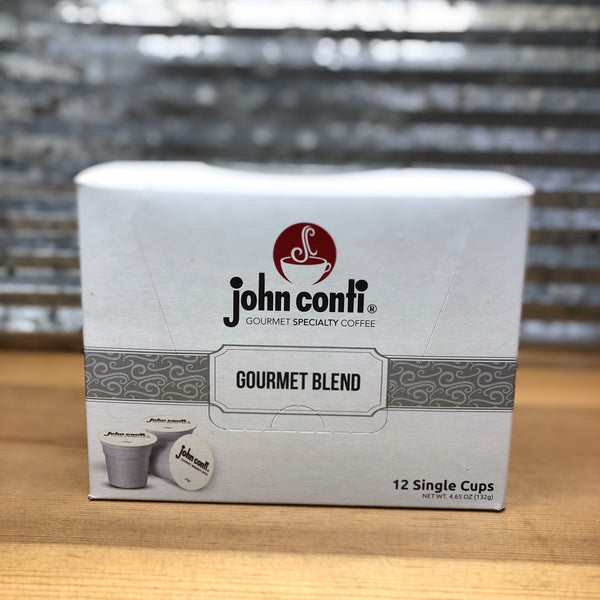 John Conti Coffee Gourmet Blend K-Cups