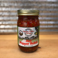 Spring Valley Farms Hot Pepper Relish