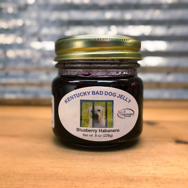 Kentucky Bad Dog Blueberry Habanero Pepper Jelly