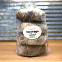 New York Style Blueberry Bagels 4 pack