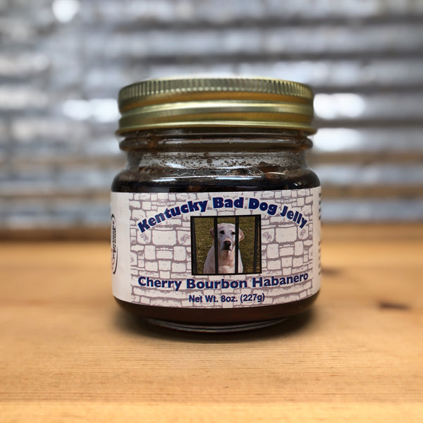 Kentucky Bad Dog Cherry Bourbon Habanero Pepper Jelly