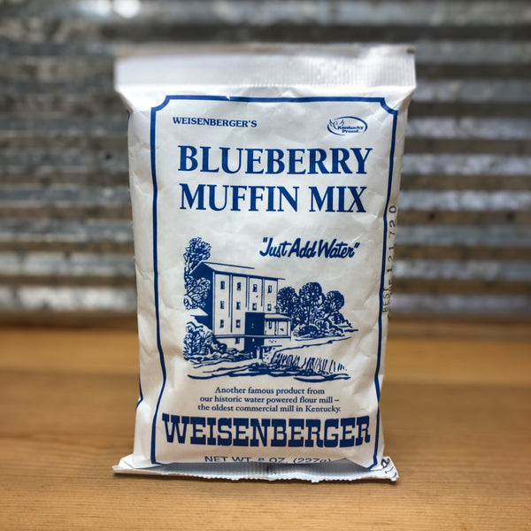 Weisenberger Mills Blueberry Muffin Mix