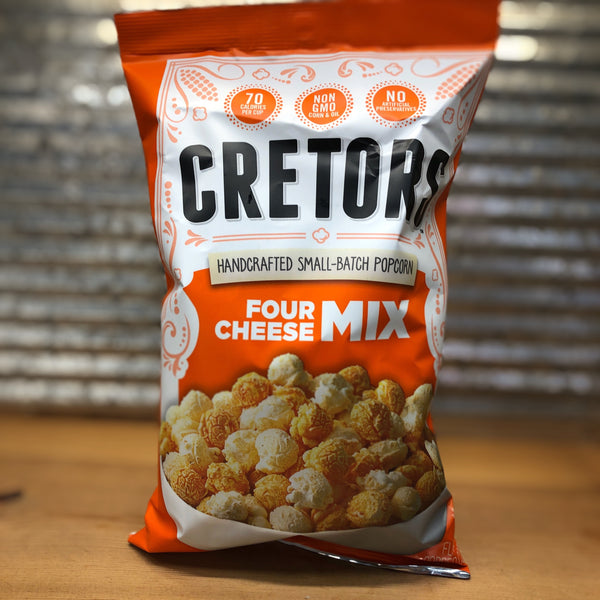 Cretors Four Cheese Mix Popcorn