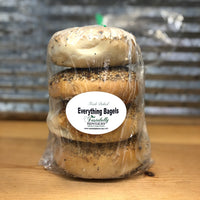 New York Style Everything Bagels 4 pack