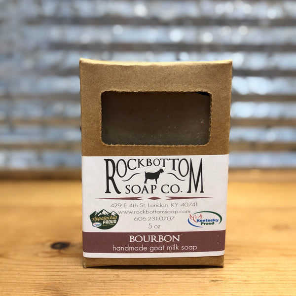 Rock Bottom Bourbon Goat Milk Soap