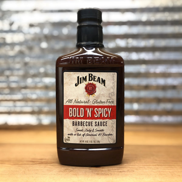 Jim Beam Bold 'N' Spicy Barbecue Sauce