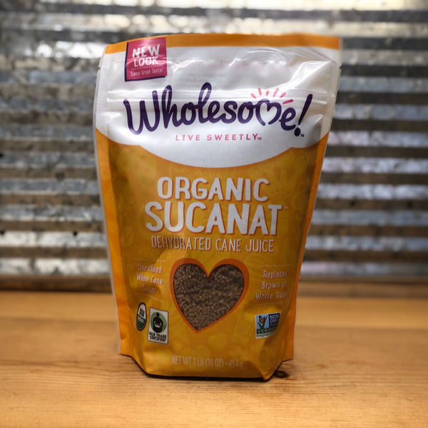 Wholesome Organic Sucanat Sugar