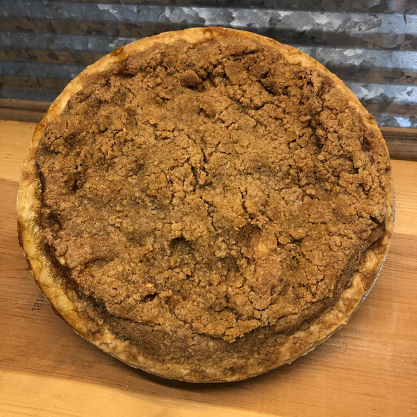 "Fresh Baked Apple Crumb Pie 9"" Pie"