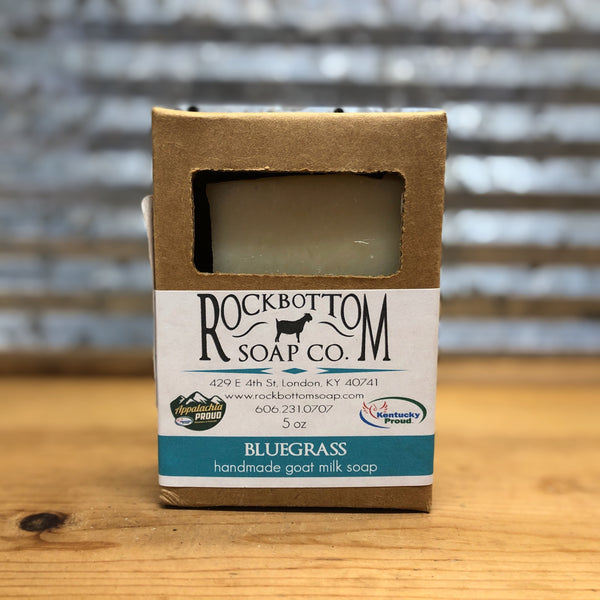 Rock Bottom Bluegrass Goat Milk Soap