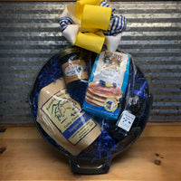 Blueberry Pancake Breakfast Skillet Gift Basket