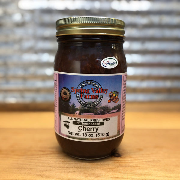 Spring Valley Farms Cherry Preserves No Sugar Added