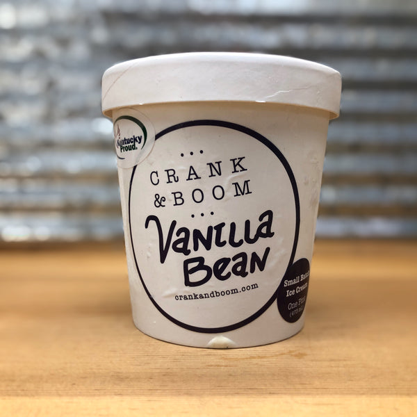 Crank & Boom Vanilla Bean Ice Cream