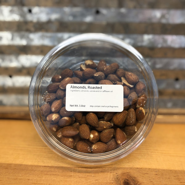 Roasted Almonds 3.8oz