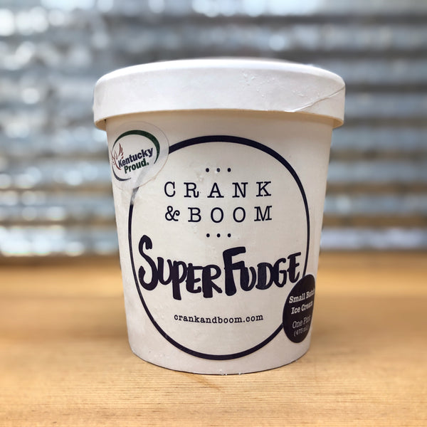 Crank & Boom Super Fudge Ice Cream