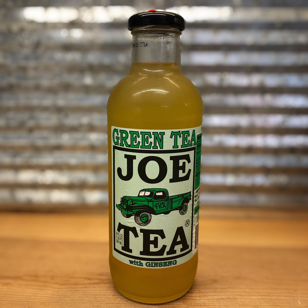 Joe's Green Tea with Ginseng Glass Bottle