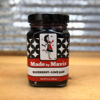 Made by Mavis Blueberry Lime Jam